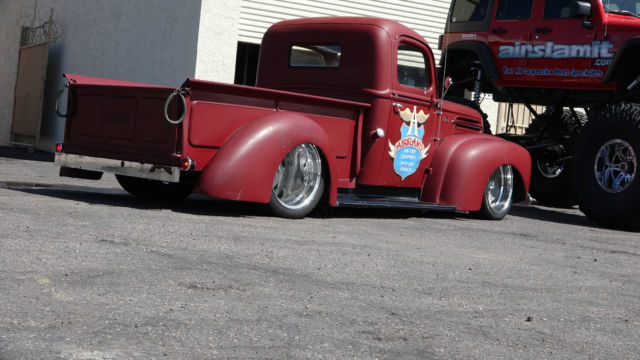 Pro Touring Wheels And Tires >> 1947 Ford Hot Rod Truck Pro Street Pro Touring Custom Air Bag 4 Link Suspension - Classic Ford ...