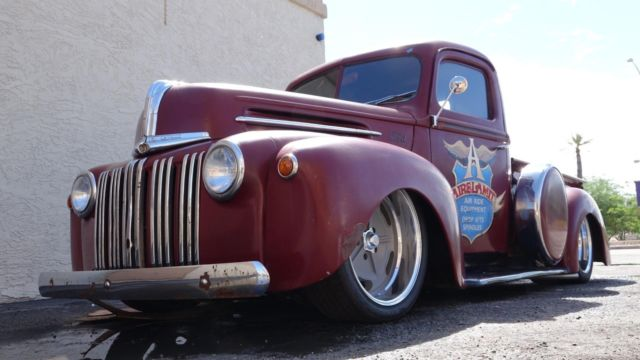 6 Door Ford Truck >> 1947 Ford Hot Rod Truck Pro Street Pro Touring Custom Air Ride Suspension 4 Link - Classic Ford ...