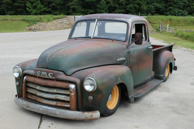 1947 Gmc Pickup Chevrolet 3100 Rat Rod Not Bagged