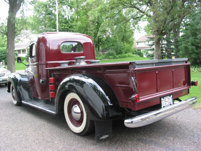 1947 International Harvester Kb 2 Nebraska Truck
