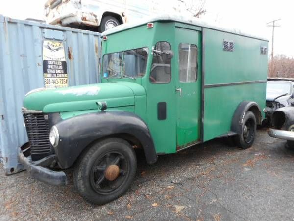 1947 International KB5 panel delivery truck paddy wagon ...