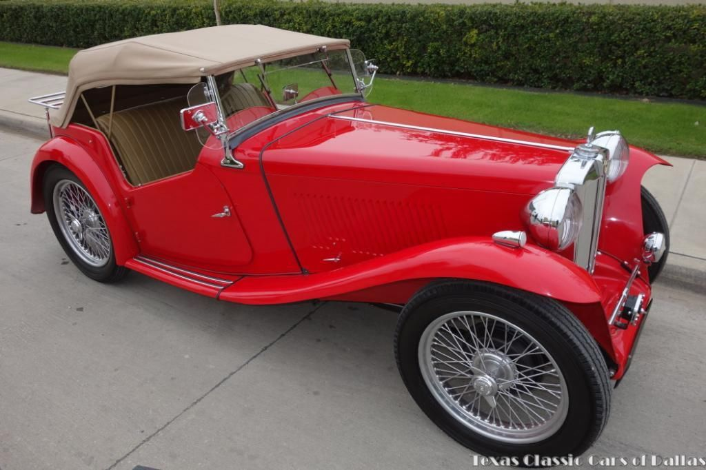 1947 MG TC Roadster - Museum Quality Restored - Video
