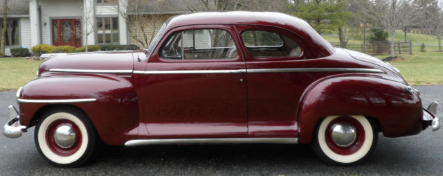 1947 no reserve plymouth special deluxe club coupe for 1947 plymouth 2 door coupe