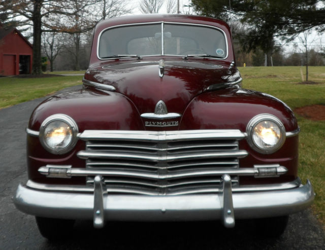 1947 no reserve plymouth special deluxe club coupe for 1947 plymouth 2 door sedan