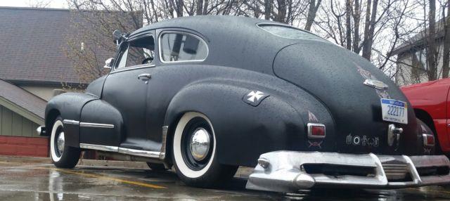 1947 Oldsombile Series 66 2 Door Fastback  Ratrod  Resto
