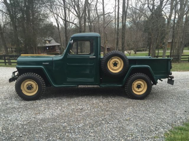 1947 willys 4x4 jeep truck classic willys jeep 1947 for sale. Black Bedroom Furniture Sets. Home Design Ideas