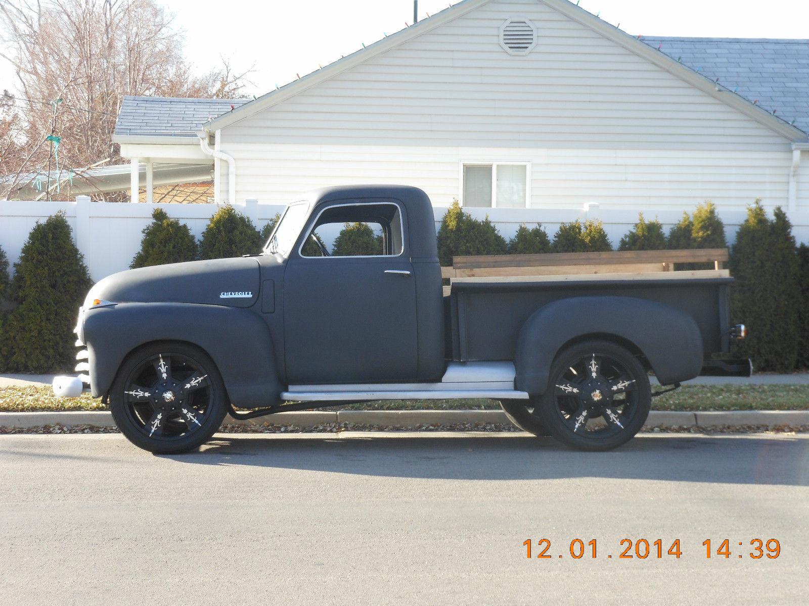 1948 1949 1950 1951 1952 1953 1954 Frame Off Restored Chevy 1 2 Pickup Truck Chevrolet Other Pickups Thrift Master Resto