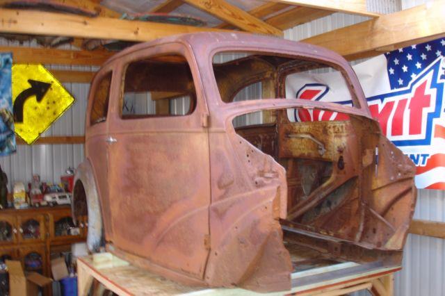 1948 Anglia Project Gasser Hot Rat Street Rod English Ford