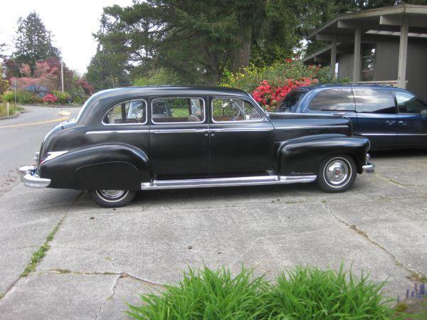 1948 Cadillac Series 75 Fleetwood Lemo Last Year Of V8