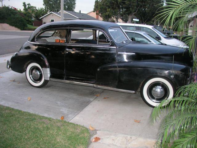 1948 chevrolet fleetline 2 door town sedan all original for 1948 chevy 2 door