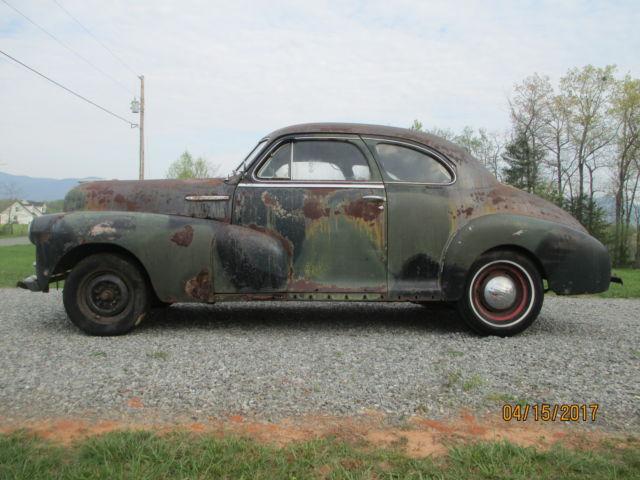 1948 Chevrolet Fleetmaster 2 Door Coupe Barn Find After 47
