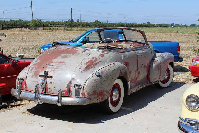 1948 chevrolet fleetmaster convertible 99 5 rust free same as 1941 1946 1947 classic