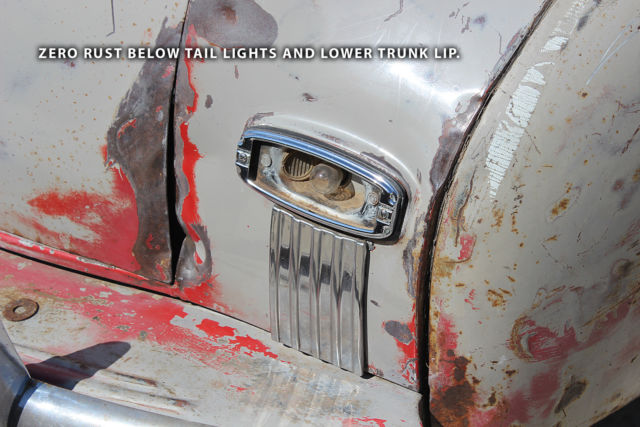 1948 CHEVROLET FLEETMASTER CONVERTIBLE - 99 5% RUST FREE