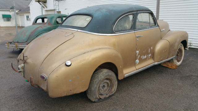 1948 Chevrolet Stylemaster Coupe 2 Door Chevy 48 Business