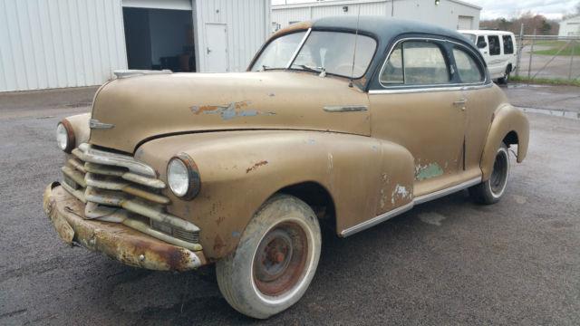 1948 chevrolet stylemaster coupe 2 door chevy 48 business for 1948 chevy 2 door