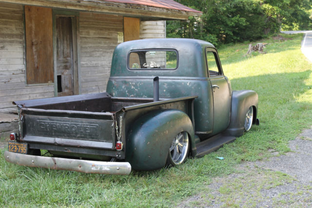 1948 chevrolet truck bagged cummins swap rat rod shop. Black Bedroom Furniture Sets. Home Design Ideas