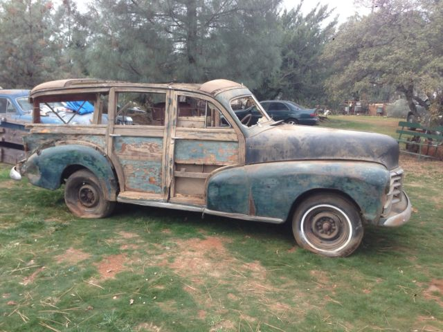 1948 Chevrolet Woody Wagon Barn Fresh All Woody Only Parts