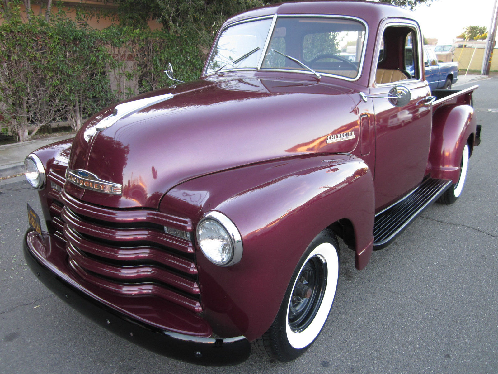 1948 Chevy Pickup Deluxe 5 Window Cab Original No Rust