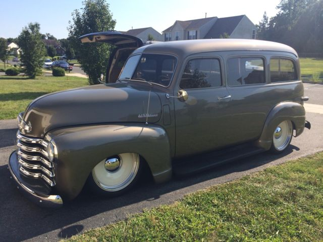 1948 Chevy Suburban Carryall Classic One Of A Kind Show