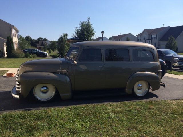 1948 chevy suburban carryall classic one of a kind show truck air ride ...