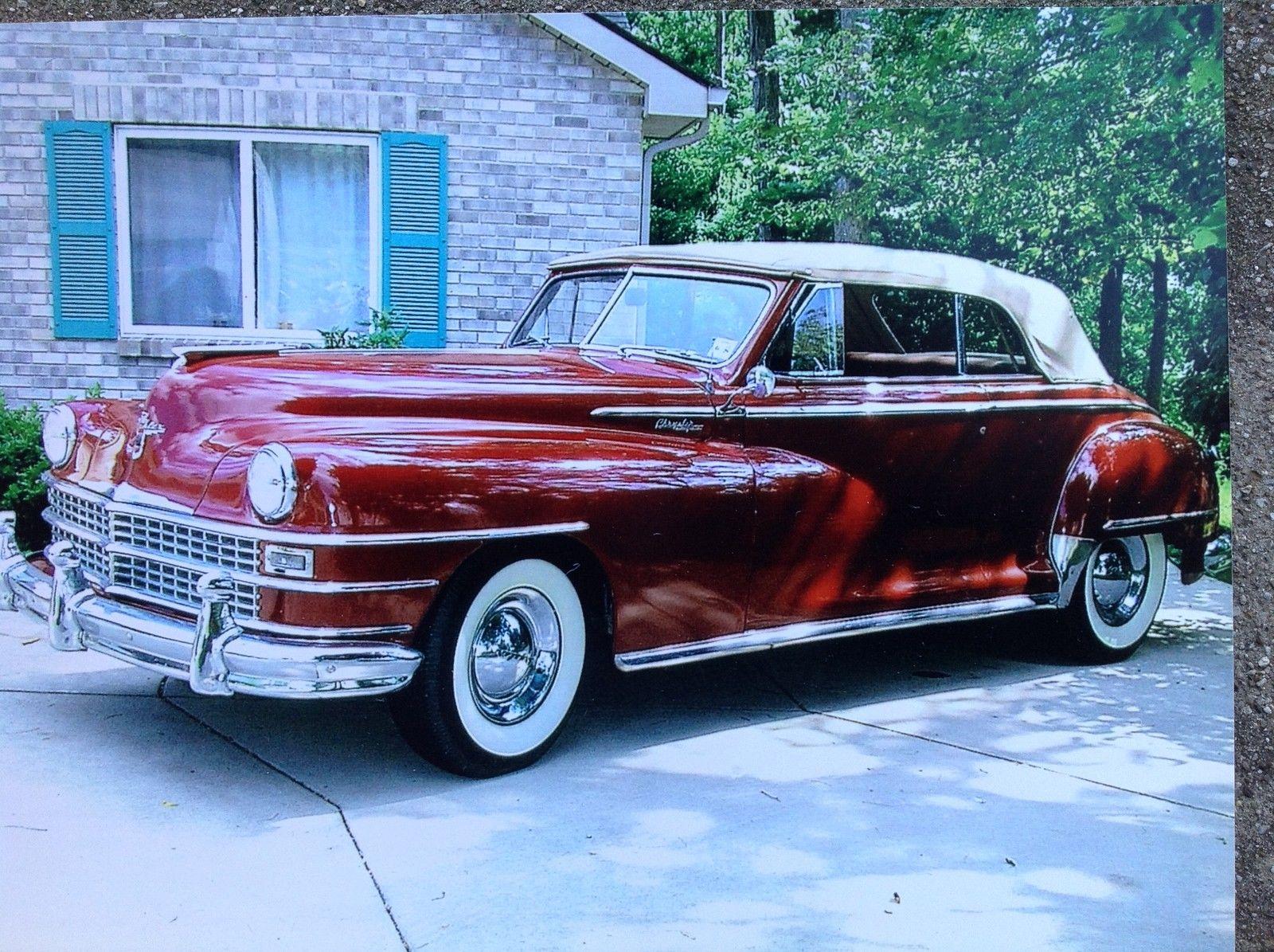 1948 Chrysler New Yorker Convertible Highlander Trim