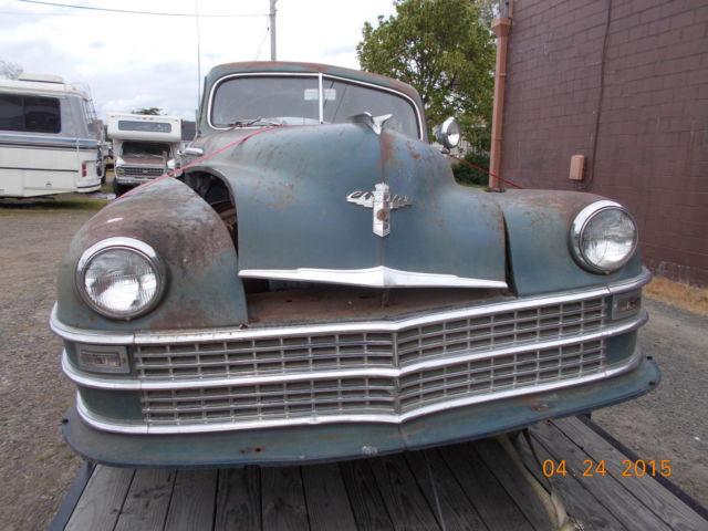 1948 Chrysler Windsor Classic Chrysler Other 1948 For Sale