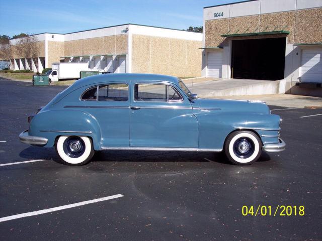 1948 Chrysler Windsor 2 Door Sedan Street Rod Classic