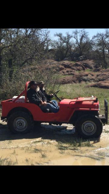 Cj A Willys Jeep on Willys Jeep Cj2a For Sale
