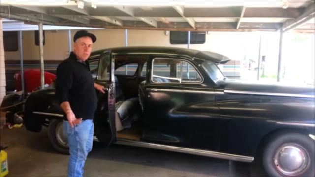 1948 Dodge Deluxe 4 Door Sedan Barn Find Suicide Doors