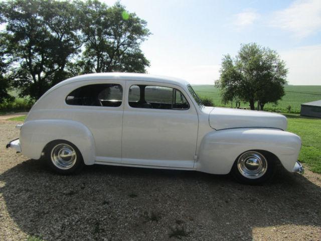 1948 ford 2 door sedan 383ci v8 stroker turbo 350 for 1948 ford 2 door sedan