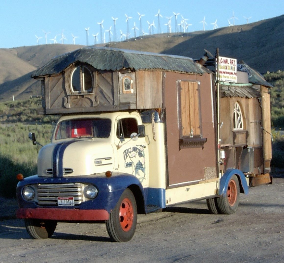 1948 Ford Coe Cabover Tiny House Car W New 350 New Trans