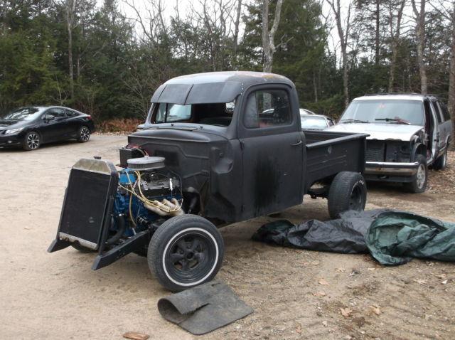 1948 Ford F 1 Pickup 302 V8 Auto Hotrod Rat Rod Project