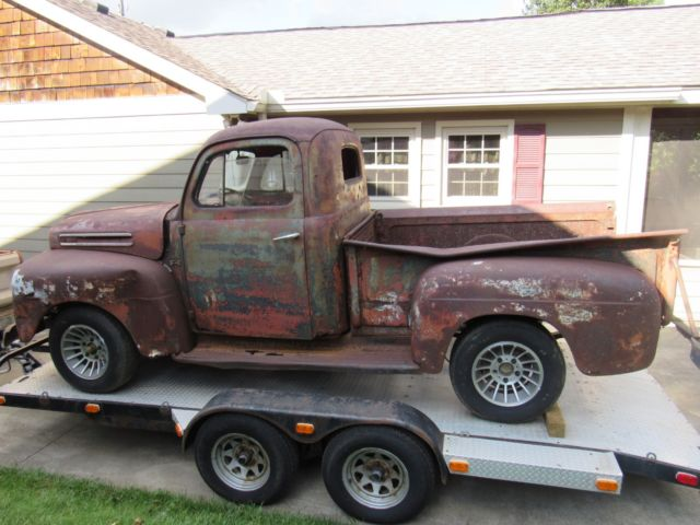 1948 Ford F1 Pickup Truck With Extra Parts Classic Ford