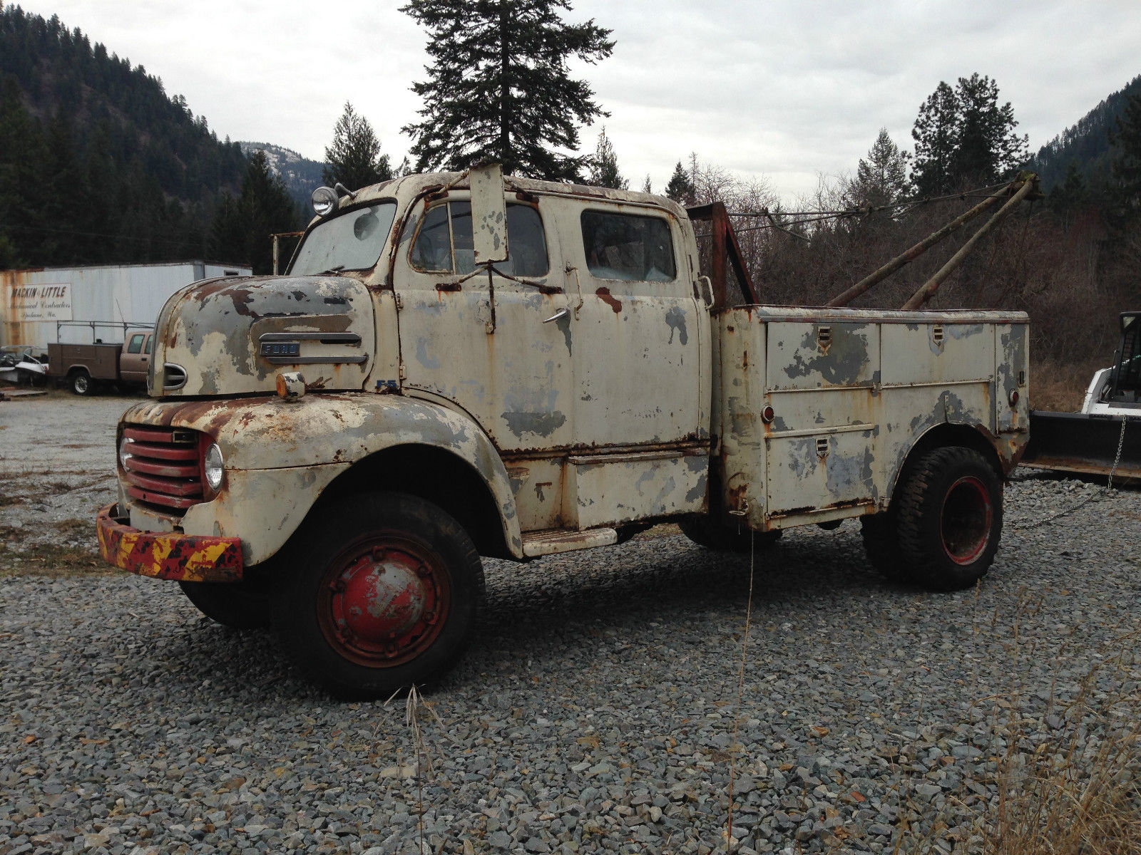 1948 FORD F5 COE cabover crewcab Coleman 4x4 Conversion ...