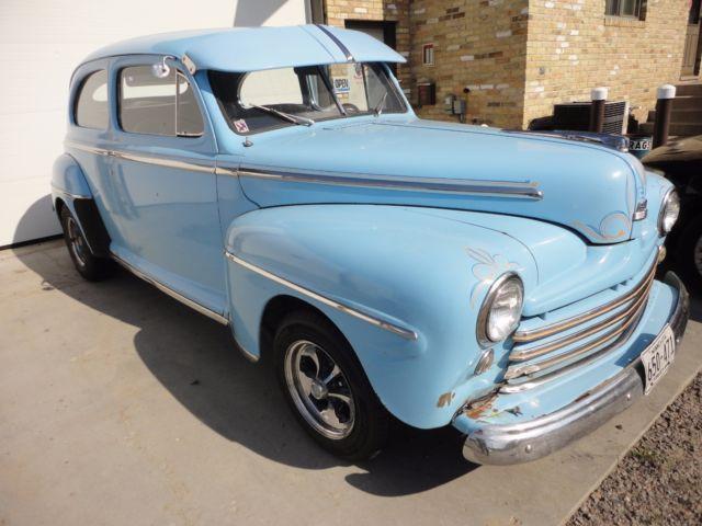 1948 ford super deluxe two door sedan hot rod barn find for 1948 ford two door sedan