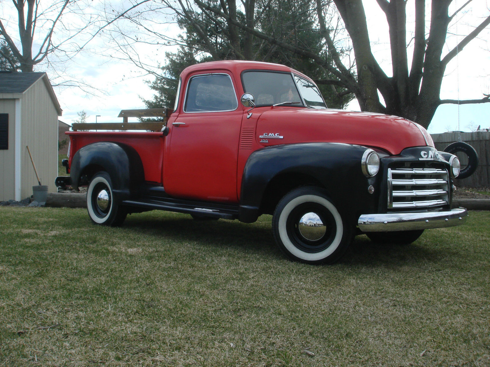 1948 gmc truck pick up shoptruck 1947 48 49 50 51 52 53 classic gmc other 1948 for sale. Black Bedroom Furniture Sets. Home Design Ideas
