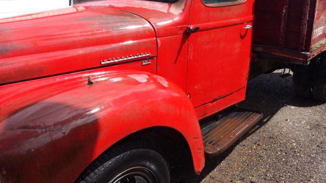 international kb  truck pickup ratrod     cummins classic