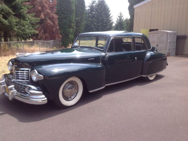 1948 lincoln continental v12 classic lincoln continental 1948 for sale. Black Bedroom Furniture Sets. Home Design Ideas