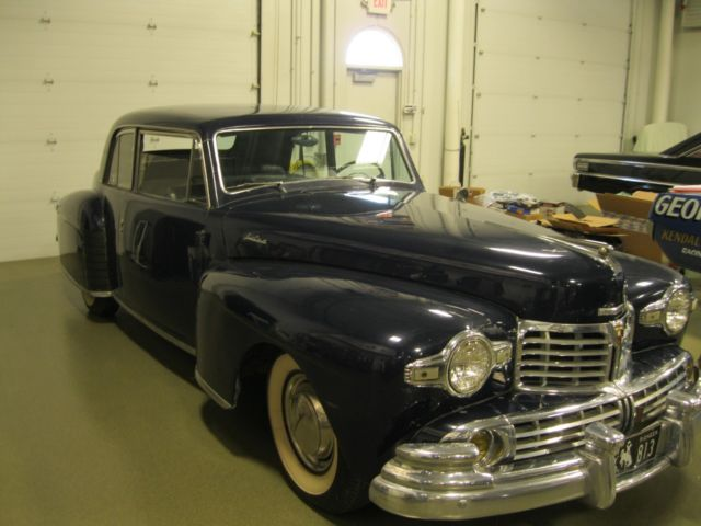 1948 Lincoln V12Continental Coupe 3 OWNER CAR RUNS AND ...