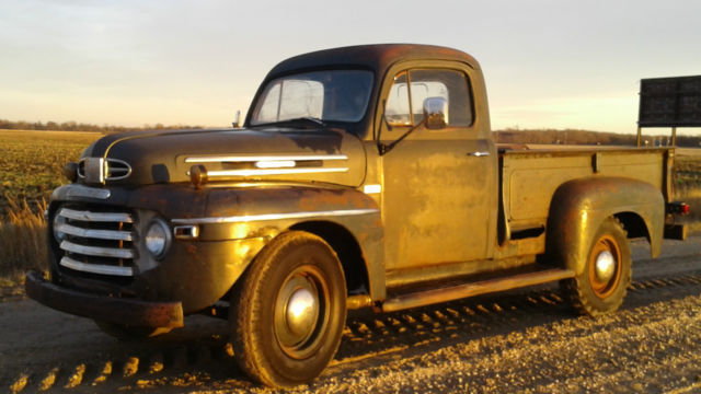 Mercury M Pickup All Original Very Rare Truck With Good Patina Ford F F