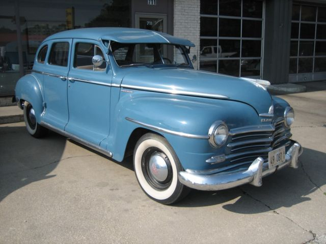 1948 plymouth deluxe 4 door sedan classic plymouth other