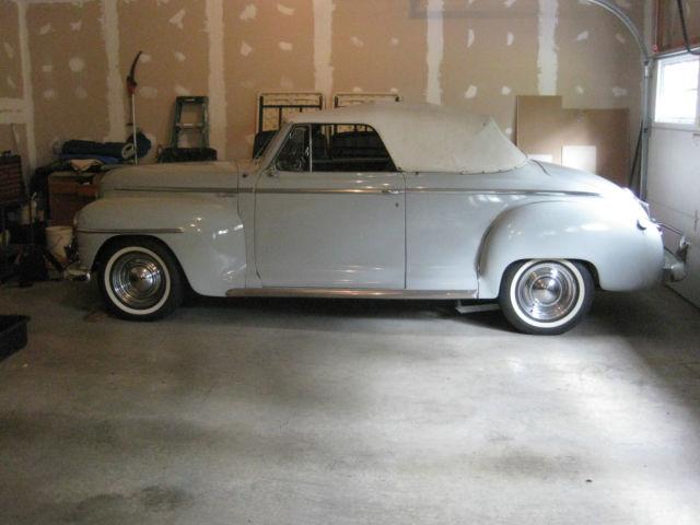 1948 Plymouth Hot Street Rod Convertible 3 Window Coupe Mopar Not A Rat Rod L K Classic
