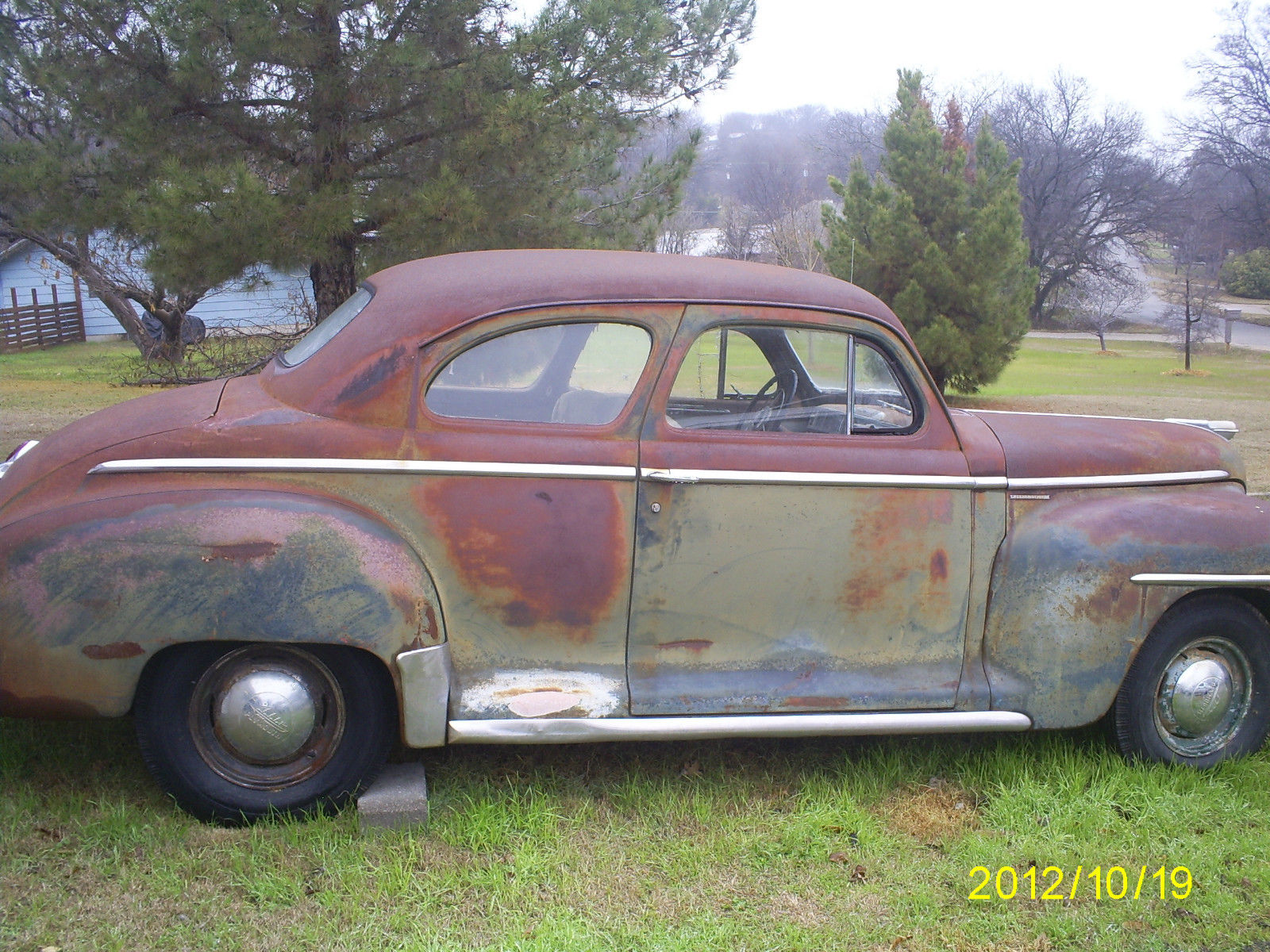 1948 Plymouth Special Deluxe Club Coupe Classic Other 1941 4 Door