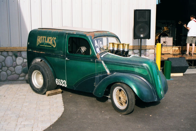 Byers Used Cars >> 1948 THAMES PANEL BLOWN BBC 4 SPEED PRO STREET FORD ANGLIA ...