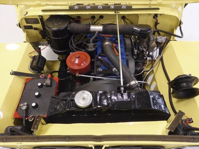 WILLYS JEEP - 1946 CJ2A - PART RESTORED |Jeep Cj2a Engines