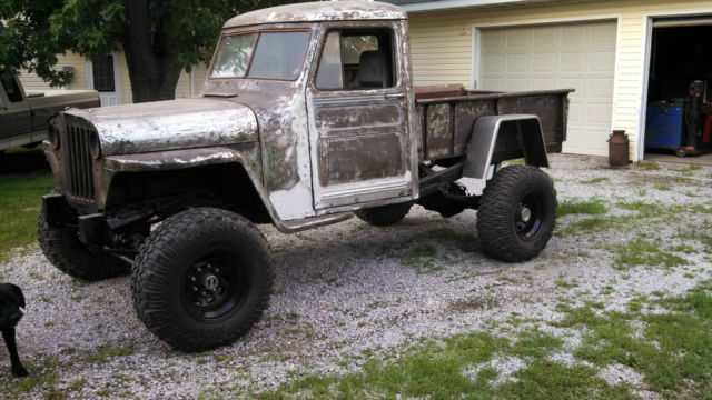 Willys Jeep Truck For Sale >> 1948 Willys Chevy Ducks Unlimited Jeep Truck Classic Willys