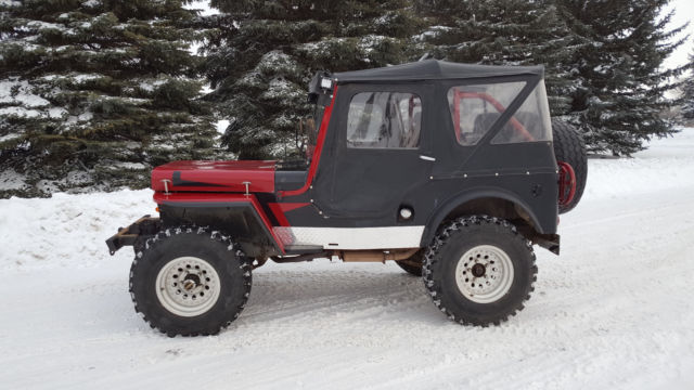 1948 Willys Jeep Cj2a 4wd 4x4 Dana 44 Classic Willys