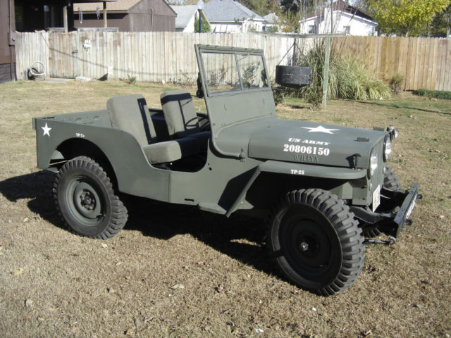 Willys Jeep Cj A Like M With A Pto Out The Back on Willys M38 Engine