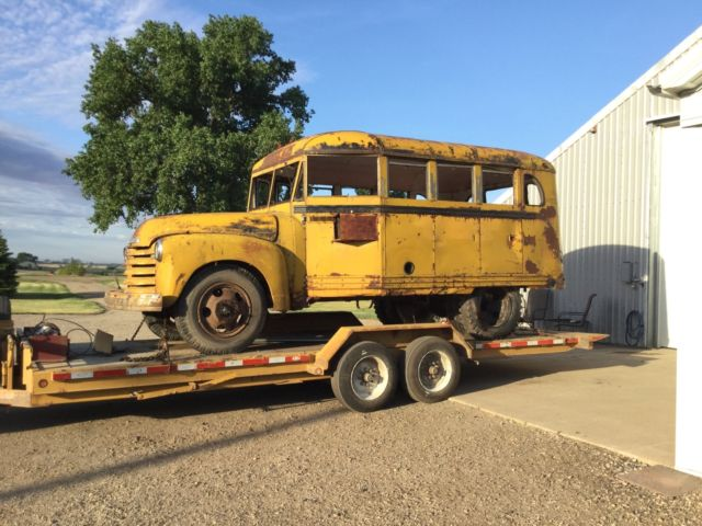 Chevy Bus Coe Ford Rat Rod Truck