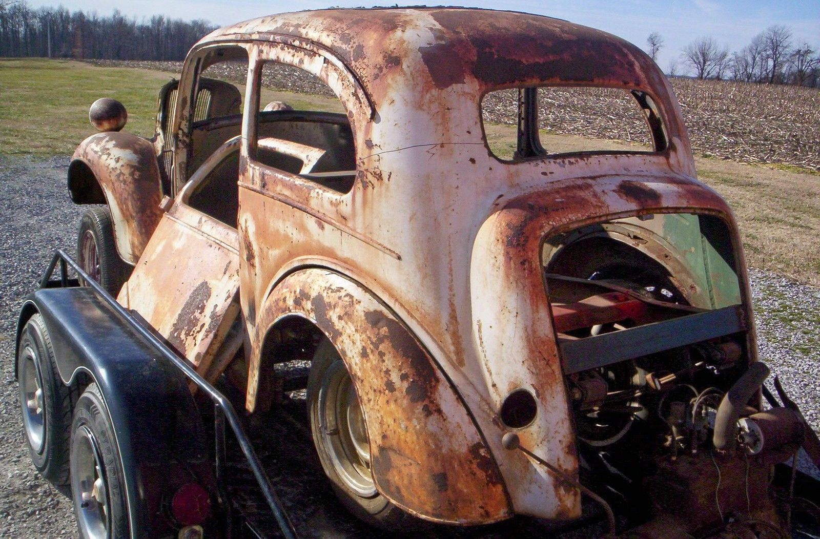 Anglia Project Rat Rod Gasserhot Rodperfect Pitinia